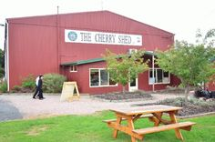 The Cherry Shed, Bass Highway, Latrobe Tasmania... all things cherry!  Article: words by Lorraine McNeair and photos by Dan Fellow for www.think-tasmania.com