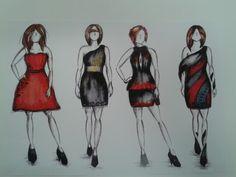 Fashion illustration collection edited