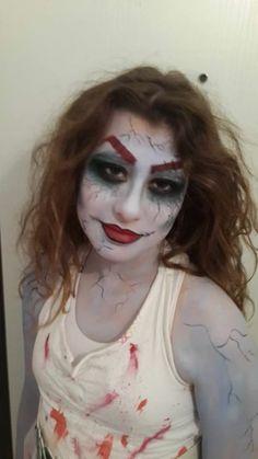zombie bride face paint | Michal Henig | מיכל הניג | 052-5355933