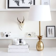 I need this (or a) pineapple lamp. Two of em. Fashion Room, Decor, Pineapple Lamp, Furniture Warehouse, Interior, Home Furniture, House Styles, Furniture Upholstery, House Interior