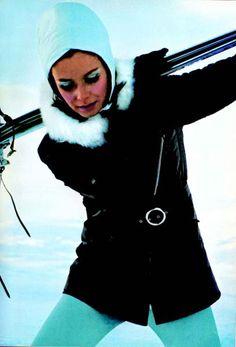 Vintage ski fashion. #SKI SkiMag.com