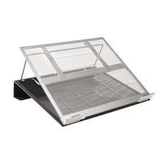 Rolodex Notebook Stand - 6.80 kg Load Capacity - Metal - Black, Silver | SHOP.CA - Sanford