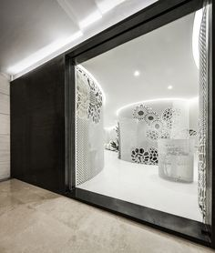 Gallery of Beijing Space of Lace Pattern—Lily Nails Salon / ARCHSTUDIO - 11