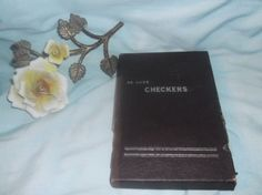 $1.00 DE LUXE Checkers Board Game Travel Size with instructions VINTAGE  #deluxe