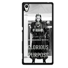 Loki Quote Thor The Avangers TATUM-6626 Sony Phonecase Cover For Xperia Z1, Xperia Z2, Xperia Z3, Xperia Z4, Xperia Z5