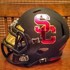 USC Football Fight On Men Of Troy Cardinal and Gold