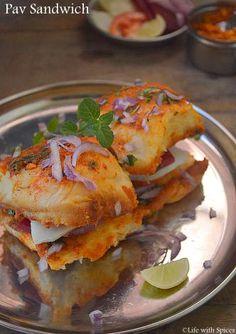 Mumbai Pav Sandwich