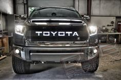 DBC Backlit Grille Insert for 2014+ Toyota Tundra. Available at - www.PureTundra.com