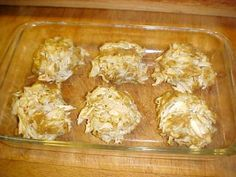 A DELICIOUS crab cake recipe I cant take credit for, it was on the Phillips crab meat, which I was happy to find in California. Very easy, and very good.