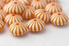 Hey, I found this really awesome Etsy listing at https://www.etsy.com/il-en/listing/183134229/acrylic-beads-orange-white-fluted-saucer