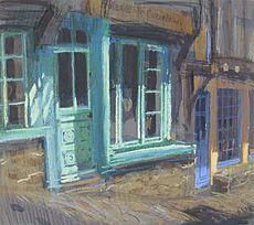 Felicity House - Sunlit Facade Dinan - pastel