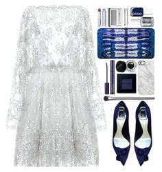 """#750 Anita"" by blueberrylexie ❤ liked on Polyvore featuring Zuhair Murad, Bobbi Brown Cosmetics, Judith Leiber, Christian Dior, Uncommon, Essie, Clinique, Madewell and Estée Lauder"