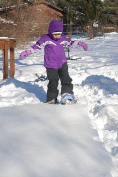 Snowshoeing burns 600 calories per hour!  #snow