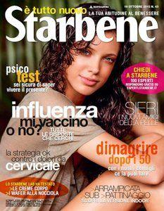 Starbene N.43 – 19 Ottobre 2015 Italian | 112 pages | True PDF | 22 MB DOWNLOAD CLOUDSIX + EASYBYTEZ http://pastebin.com/364XQcQs