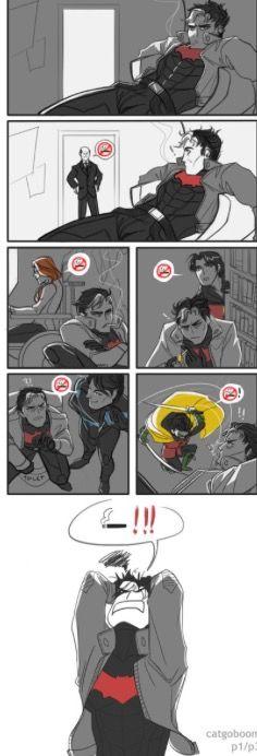 Stop smoking Jason!!