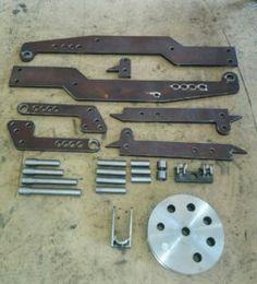 Комплект для самостоятельной постройки гидравлического трубогиба | Hydraulic bender DIY kit