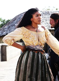Thalissa Teixeira in 'The Musketeers' (2014). x