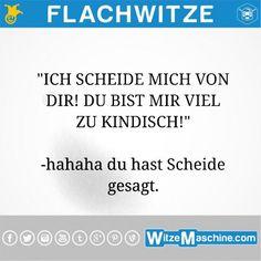 Flachwitze #218 - Scheidungswitze