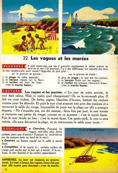 Manuels anciens: François, Villin, Géographie, Premier Livre (1955) How To Speak French, Album, French Language, Comprehension, Continents, English, Science, Culture, Education