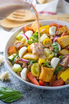 panzanella salad lightened-2