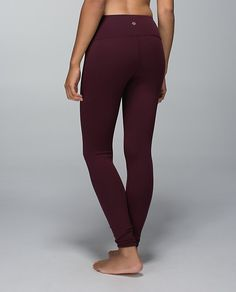 maroon lululemon leggings - Google Search
