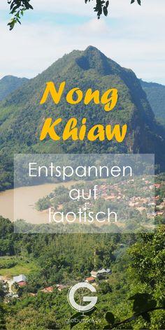 Reisebericht Nong Kiaw! Wenn in Laos dann nach Nong Khiaw. Nur 4h von Luang Prabang entfernt liegt dieses idyllische, authentische Dörfchen. Mehr auf unserem Blog. Klick!