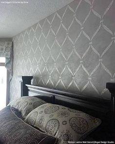 Resultado de imagen para stencil room designs