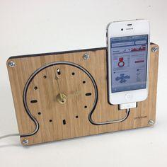 Simple iPhone Dock + Clock