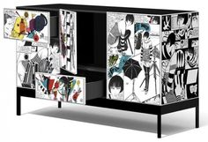 27 Cool Furniture Ideas Inspired by Pop ART   (Baneasa Kitchen Showroom) Bucharest Romania
