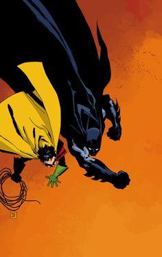comicartappreciation:  Batman: Dark Victory by Tim Sale