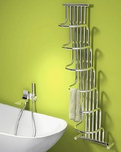 Reina Giada Designer Towel Radiator 563 x Chrome Bathroom Radiators, Bathroom Furniture, Decorative Radiators, Modern Radiators, Chrome Towel Rail, Towel Radiator, Shower Taps, Designer Radiator, Heated Towel Rail