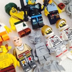 Large Lego Minifigure Lot 11 Minifigs Parts Bases Series Cards w Code Minifig | eBay
