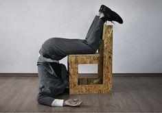 Bartosz Mucha, Duporet (2004), proste krzesło do złożenia przez kupującego (zestaw składał się z pięciu drewnianych elementów, dwunastu śrubek i śrubokręta), fot. dzięki uprzejmości projektanta - photo 5
