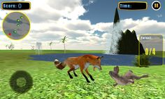 Angry Wild fox attack 3D simulator game of an Alpha fox left wounded shot in the forest area by animal hunters. Now this ferocious beast seeks to avenge blood thirsty for its arctic fox pack. Beware it can attack you from darkness and city areas. No one i