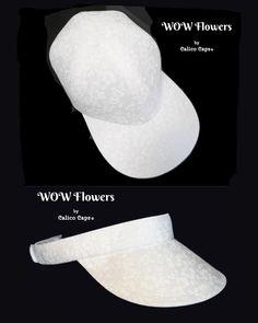 WOW Flowers - OSFMost - Bright White on White Wildflower Floral Print Baseball Ball Cap 100% Cotton Winter Sport Fashion Hat by Calico Caps® Winter Sport, Panama City Beach, Florida Usa, Sport Fashion, Floral Prints, Cap, Bright, Baseball, Flowers