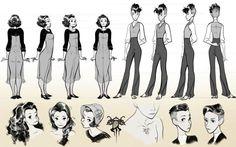 Olivia Margraf-Posta Character Design Portfolio - Portfolio 2015