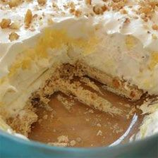 Texas Delight (Four Layered Dessert) ~ maybe try pecan sandies as the ...