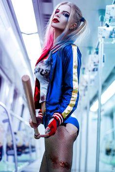 Harley Quinn - fandom: Suicide Squad cosplay by: Katya Kosova (Ukraine) photo: Tim Rise Harley Quinn Et Le Joker, Harley Quinn Halloween, Harley Quinn Drawing, Margot Robbie Harley Quinn, Harley Quinn Cosplay, Dc Cosplay, Best Cosplay, Cosplay Girls, Ukraine