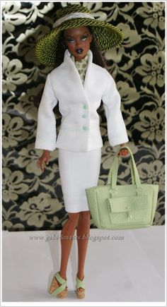 Black Barbie style Girl Barbie, Barbie Style, Beautiful Barbie Dolls, Pretty Dolls, Ebony Models, Diva Dolls, African American Dolls, Black Barbie, Barbie Collection