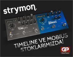 Yaratıcılığını keşfet! Strymon Mobius Multi Effects ve Timeline Delay & Looper Pedalı aramızda! http://www.gitarpazar.com/strymon