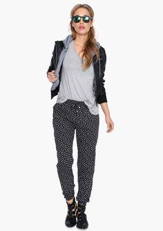 Prairie Harem Pants in Black | Necessary Clothing
