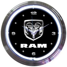 Decorate your den, bedroom, mancave or garage the way YOU want it!. With neon lights!! match your theme with any of our 15 inch neon clocks. Click to buy.