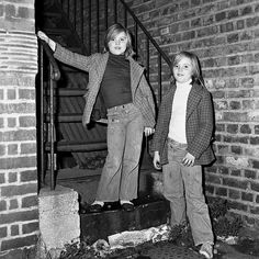 South London Youth Club Twins 1978   by GSPlemper