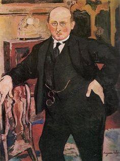 Portrait of Monsieur Mori - Suzanne Valadon