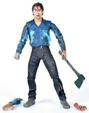 """Evil Dead 2 FAREWELL TO ARMS ASH 7"""" Action Figure Bruce Campbell NECA 2011"""