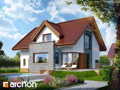 Projekt domu Dom pod liczi (P) - ARCHON+