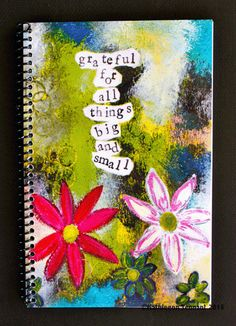 Grateful for Things Big and Small x Coil Bound Gratitude Journal, Stationery, Daily Gratitude, Practice Gratitude, Canadian Made Practice Gratitude, Express Gratitude, Media Design, My Design, Coil Binding, Life Humor, That Way, Grateful