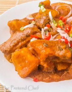Easy soft and creamy Nigerian one pot Yam porridge-Yam pottage