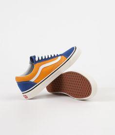 Vans Old Skool 36 DX Anaheim Factory Shoes - OG Blue   OG Gold d8a884710c45c
