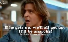 Things You Love About 80's Movies. Just watched the breakfast club again yesterday!!